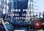Image of Lower section of fore peak put in place on Liberty ship  California United States USA, 1942, second 5 stock footage video 65675025796