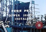 Image of Lower section of fore peak put in place on Liberty ship  California United States USA, 1942, second 6 stock footage video 65675025796