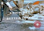 Image of Workers union melt bottom shell of Liberty ship  California United States USA, 1942, second 2 stock footage video 65675025797