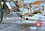 Image of Workers union melt bottom shell of Liberty ship  California United States USA, 1942, second 6 stock footage video 65675025797