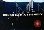 Image of Assembly of bulkhead on Liberty ship  California United States USA, 1942, second 2 stock footage video 65675025798