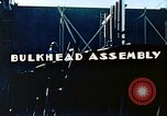 Image of Assembly of bulkhead on Liberty ship  California United States USA, 1942, second 3 stock footage video 65675025798