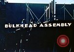 Image of Assembly of bulkhead on Liberty ship  California United States USA, 1942, second 4 stock footage video 65675025798