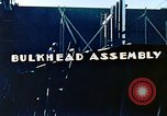 Image of Assembly of bulkhead on Liberty ship  California United States USA, 1942, second 7 stock footage video 65675025798