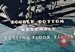 Image of Fabrication and installation of floor plates on double bottom of ship California United States USA, 1942, second 3 stock footage video 65675025799