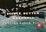 Image of Fabrication and installation of floor plates on double bottom of ship California United States USA, 1942, second 4 stock footage video 65675025799