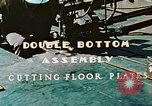 Image of Fabrication and installation of floor plates on double bottom of ship California United States USA, 1942, second 5 stock footage video 65675025799