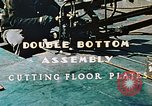Image of Fabrication and installation of floor plates on double bottom of ship California United States USA, 1942, second 7 stock footage video 65675025799