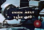 Image of Union melt of tank top during construction of Liberty ship California United States USA, 1942, second 3 stock footage video 65675025800