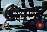 Image of Union melt of tank top during construction of Liberty ship California United States USA, 1942, second 7 stock footage video 65675025800
