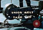Image of Union melt of tank top during construction of Liberty ship California United States USA, 1942, second 9 stock footage video 65675025800