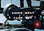 Image of Union melt of tank top during construction of Liberty ship California United States USA, 1942, second 10 stock footage video 65675025800