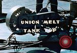 Image of Union melt of tank top during construction of Liberty ship California United States USA, 1942, second 11 stock footage video 65675025800
