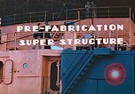 Image of Shipyard workers prefabricating Liberty Ship superstructure California United States USA, 1942, second 6 stock footage video 65675025803