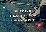 Image of Liberty ship deck plates are prepared for union melt at shipyard California United States USA, 1942, second 2 stock footage video 65675025805