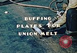 Image of Liberty ship deck plates are prepared for union melt at shipyard California United States USA, 1942, second 3 stock footage video 65675025805