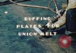 Image of Liberty ship deck plates are prepared for union melt at shipyard California United States USA, 1942, second 4 stock footage video 65675025805