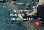 Image of Liberty ship deck plates are prepared for union melt at shipyard California United States USA, 1942, second 5 stock footage video 65675025805