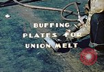 Image of Liberty ship deck plates are prepared for union melt at shipyard California United States USA, 1942, second 9 stock footage video 65675025805