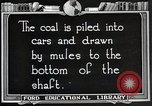 Image of Antrecite coal mining United States USA, 1922, second 4 stock footage video 65675025809