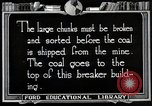 Image of Antrecite coal mining United States USA, 1922, second 1 stock footage video 65675025810