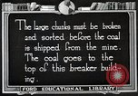 Image of Antrecite coal mining United States USA, 1922, second 3 stock footage video 65675025810