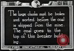 Image of Antrecite coal mining United States USA, 1922, second 8 stock footage video 65675025810