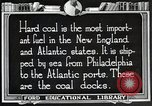 Image of export of coal United States USA, 1922, second 2 stock footage video 65675025811