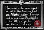 Image of export of coal United States USA, 1922, second 6 stock footage video 65675025811