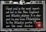 Image of export of coal United States USA, 1922, second 7 stock footage video 65675025811