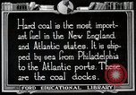 Image of export of coal United States USA, 1922, second 8 stock footage video 65675025811