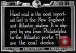 Image of export of coal United States USA, 1922, second 9 stock footage video 65675025811