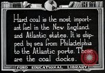 Image of export of coal United States USA, 1922, second 11 stock footage video 65675025811
