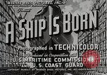 Image of Victory ship launch California United States USA, 1941, second 5 stock footage video 65675025829