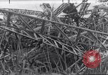 Image of wrecked zeppelin Greece, 1916, second 1 stock footage video 65675025843