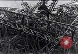Image of wrecked zeppelin Greece, 1916, second 4 stock footage video 65675025843