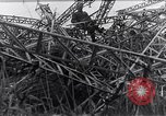 Image of wrecked zeppelin Greece, 1916, second 5 stock footage video 65675025843