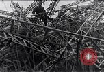 Image of wrecked zeppelin Greece, 1916, second 7 stock footage video 65675025843