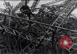 Image of wrecked zeppelin Greece, 1916, second 8 stock footage video 65675025843
