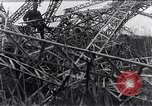 Image of wrecked zeppelin Greece, 1916, second 10 stock footage video 65675025843