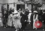 Image of Mary Pickford and Jack Pickford wedding United States USA, 1922, second 8 stock footage video 65675025859