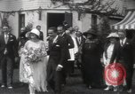 Image of Mary Pickford and Jack Pickford wedding United States USA, 1922, second 9 stock footage video 65675025859
