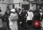 Image of Mary Pickford and Jack Pickford wedding United States USA, 1922, second 10 stock footage video 65675025859