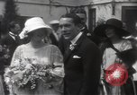 Image of Mary Pickford and Jack Pickford wedding United States USA, 1922, second 11 stock footage video 65675025859
