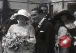 Image of Mary Pickford and Jack Pickford wedding United States USA, 1922, second 12 stock footage video 65675025859