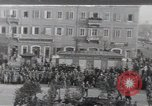 Image of Gabriele D'Annunzio leads force of volunteers Fiume Croatia, 1919, second 1 stock footage video 65675025861