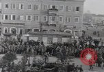 Image of Gabriele D'Annunzio leads force of volunteers Fiume Croatia, 1919, second 2 stock footage video 65675025861