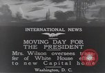 Image of moving day Washington DC USA, 1919, second 2 stock footage video 65675025863