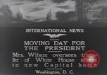 Image of moving day Washington DC USA, 1919, second 4 stock footage video 65675025863