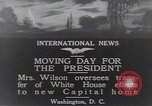Image of moving day Washington DC USA, 1919, second 5 stock footage video 65675025863